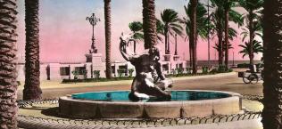 Gazelle Fountain - 1958 - Tripoli, Libya.